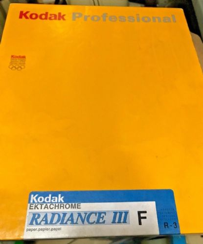 "Kodak Radiance III 10x8"" 100 sheer pack of transparency printing paper"